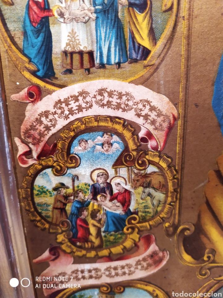 Arte: MARAVILLOSA CROMOLITOGRAFIA RELIGIOSA, SIGLO XIX O PP XX, ÚNICA, VER - Foto 16 - 179084170