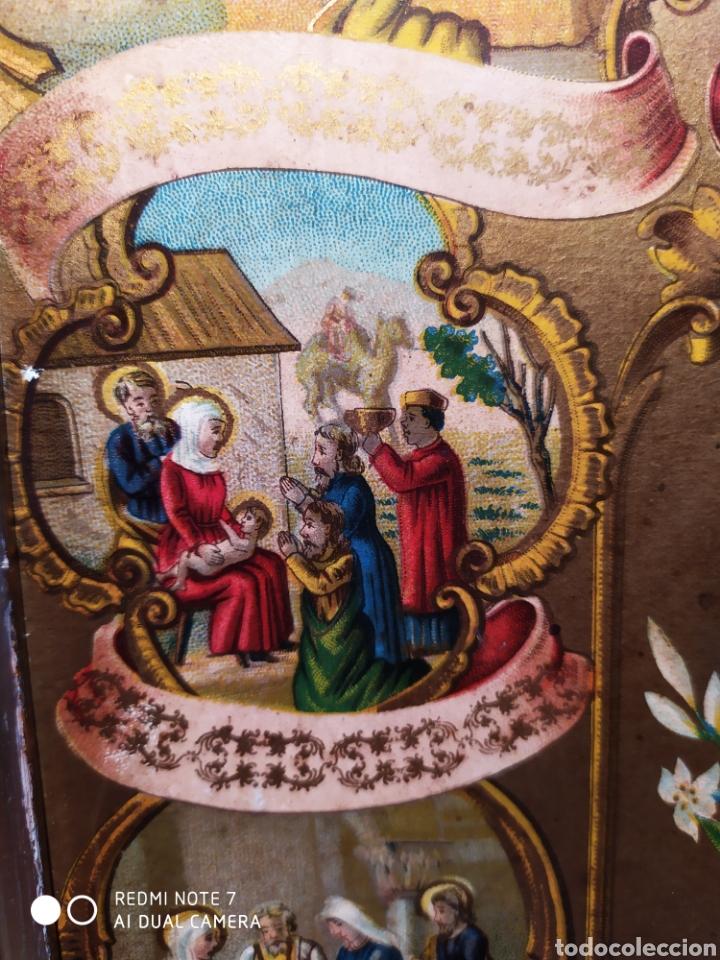 Arte: MARAVILLOSA CROMOLITOGRAFIA RELIGIOSA, SIGLO XIX O PP XX, ÚNICA, VER - Foto 18 - 179084170