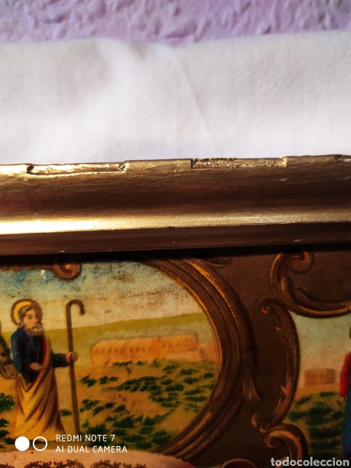 Arte: MARAVILLOSA CROMOLITOGRAFIA RELIGIOSA, SIGLO XIX O PP XX, ÚNICA, VER - Foto 20 - 179084170