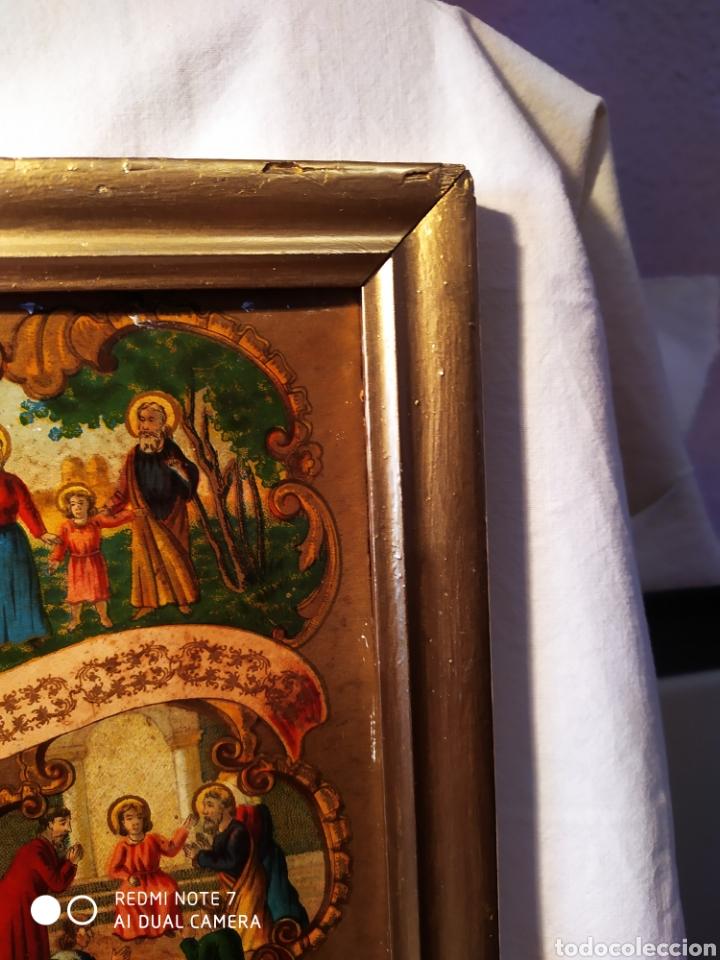 Arte: MARAVILLOSA CROMOLITOGRAFIA RELIGIOSA, SIGLO XIX O PP XX, ÚNICA, VER - Foto 21 - 179084170