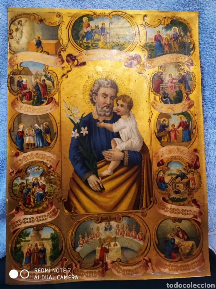 Arte: MARAVILLOSA CROMOLITOGRAFIA RELIGIOSA, SIGLO XIX O PP XX, ÚNICA, VER - Foto 25 - 179084170