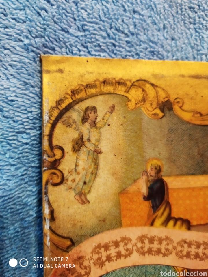 Arte: MARAVILLOSA CROMOLITOGRAFIA RELIGIOSA, SIGLO XIX O PP XX, ÚNICA, VER - Foto 26 - 179084170