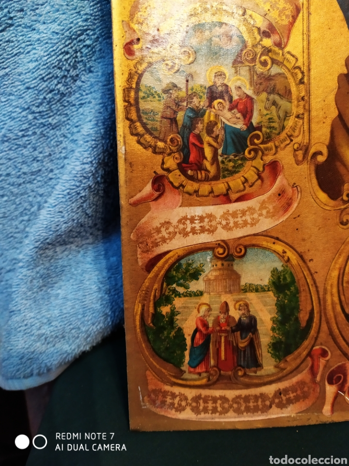 Arte: MARAVILLOSA CROMOLITOGRAFIA RELIGIOSA, SIGLO XIX O PP XX, ÚNICA, VER - Foto 28 - 179084170
