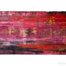 Arte: LA ROUTE EN ROUGE 2016 (ARTISTA: JUDÀ MUÑOZ). Lote 179089692
