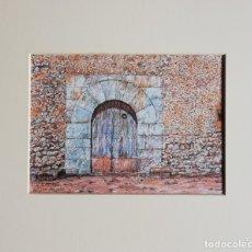Arte: PORTAL DE BALITX D'ENMIG - PLUMILLA COLOREADA. VICENÇ SASTRE. Lote 179104222