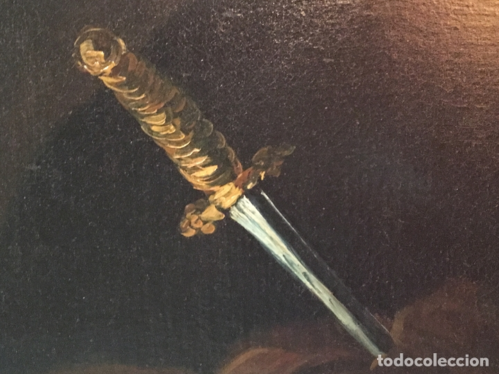 Arte: IMPRESIONANTE DOLOROSA SIGLO XIX FIRMADA - Foto 7 - 179137366