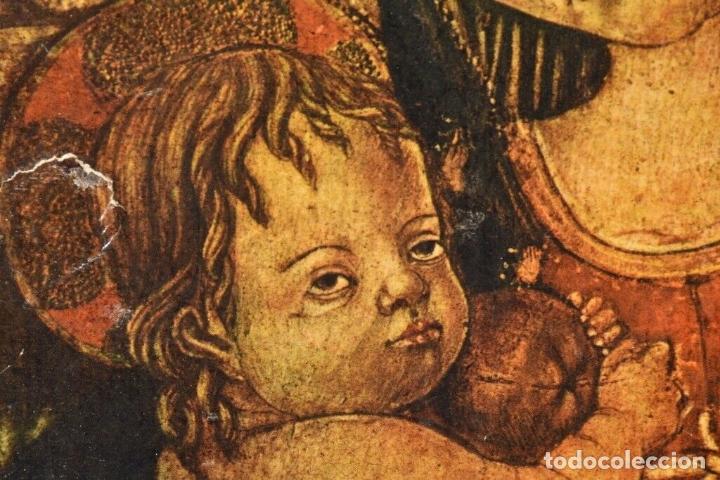 Arte: ANTIGUO ICONO MADERA SIGLO XVIII -XIX 38X28 CM - Foto 5 - 179207901