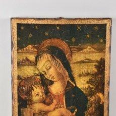 Arte: ANTIGUO ICONO MADERA SIGLO XVIII -XIX 38X28 CM 350 EUROS. Lote 179207901