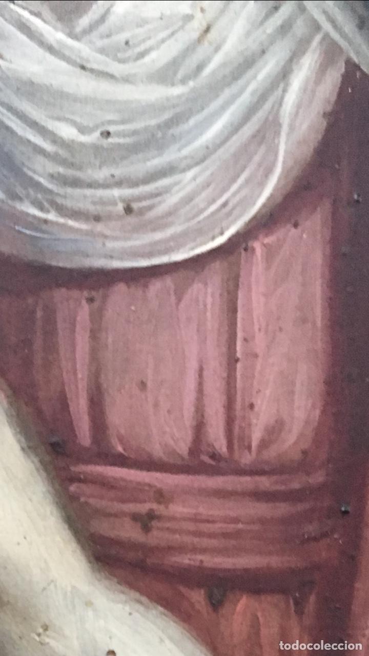 Arte: La Piedad. Óleo sobre cobre. S.XVI. Escuela española - Foto 12 - 179333900