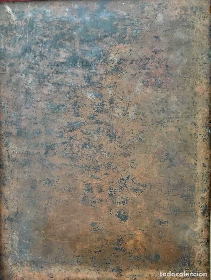 Arte: La Piedad. Óleo sobre cobre. S.XVI. Escuela española - Foto 13 - 179333900