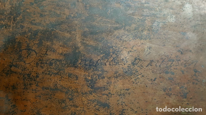 Arte: La Piedad. Óleo sobre cobre. S.XVI. Escuela española - Foto 14 - 179333900