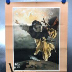 Arte: Vº CENTENARIO CANONIZACION DE SAN VICENTE FERRER - VALENCIA AÑO 1955, LITOGRAFIA. Lote 179397038