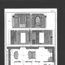 Arte: BERNARD DIREXIT. GRABADO SIGLO XVIII: PERRUQUIER BAIGNEUR ETUVISTE, APPARTEMENT DE BAINS. Lote 180115613
