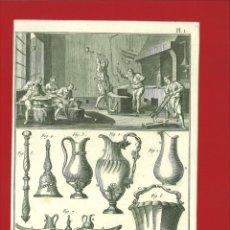 Arte: BERNARD DIREXIT. GRABADO SIGLO XVIII: ORFEVRE GROSSIER ,OUVRAGES. Lote 180116075