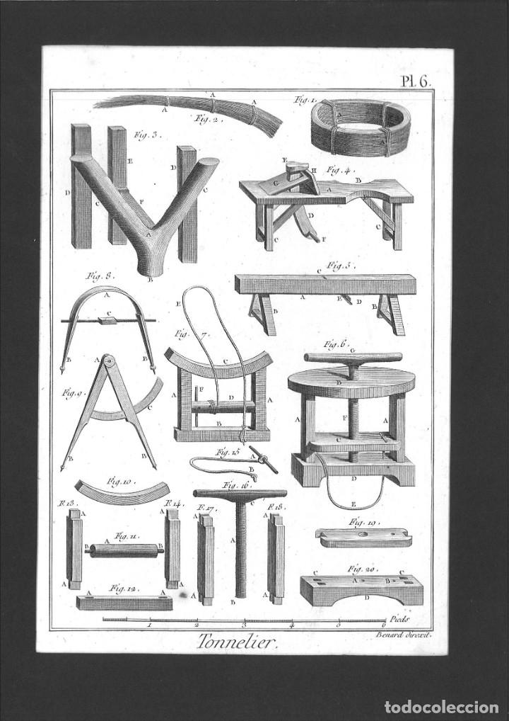 BERNARD DIREXIT. GRABADO SIGLO XVIII: TONNELIER (Arte - Arte Religioso - Grabados)
