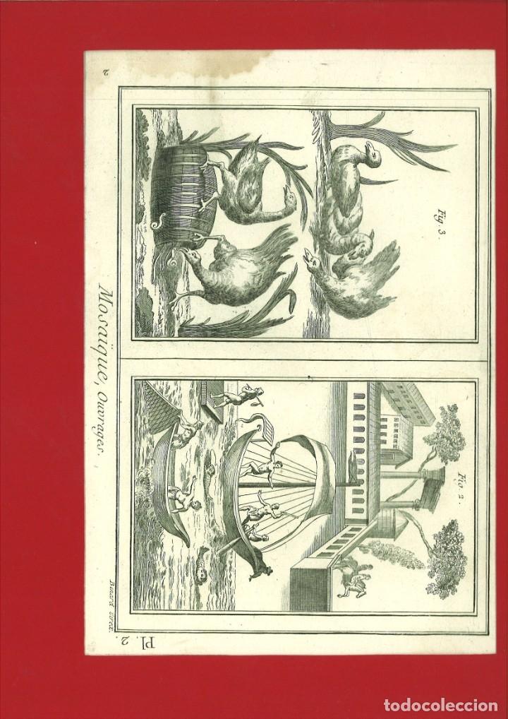 BERNARD DIREXIT. GRABADO SIGLO XVIII: MOSAIQUE, OUVRAGES (Arte - Arte Religioso - Grabados)