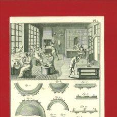 Arte: BERNARD DIREXIT. GRABADO SIGLO XVIII: ORFEVRE BIJOUTIER. Lote 180122430