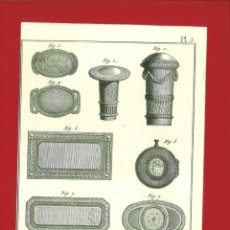 Arte: BERNARD DIREXIT. GRABADO SIGLO XVIII: ORFEVRE BIJOUTIER. Lote 180122483