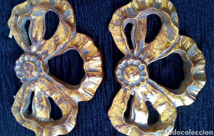 Arte: Fragmentos de retablo. Madera y pan de oro. - Foto 5 - 180159840