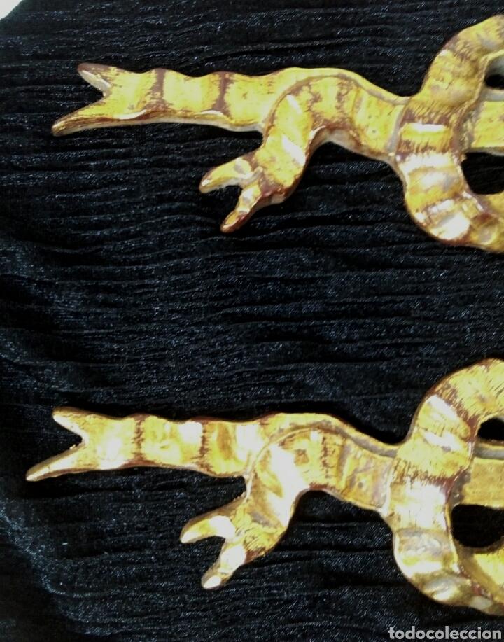 Arte: Fragmentos de retablo. Madera y pan de oro. - Foto 8 - 180159840
