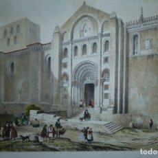 Arte: CATEDRAL DE ZAMORA - GENARO PÉREZ VILLA AMIL (1842). Lote 180163178