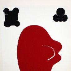 Arte: JOAN CRUSPINERA (TIANA, BARCELONA, 1945) LITOGRAFIA FIRMADA A MANO CON TIRAJE 49/250. Lote 180184741
