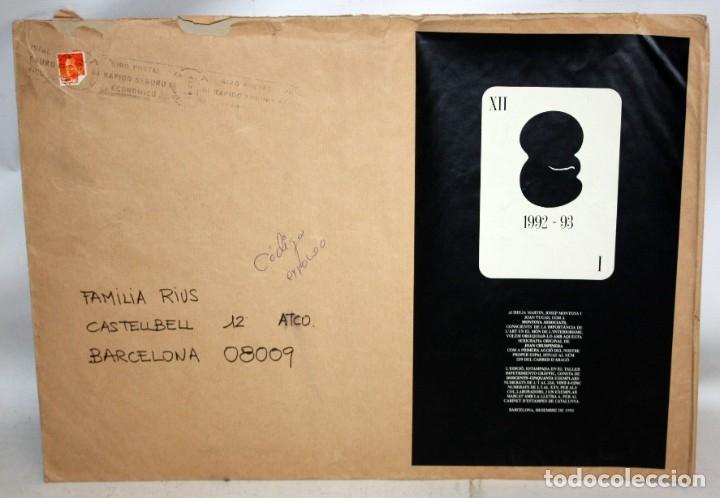 Arte: JOAN CRUSPINERA (TIANA, BARCELONA, 1945) LITOGRAFIA FIRMADA A MANO CON TIRAJE 49/250 - Foto 5 - 180184741