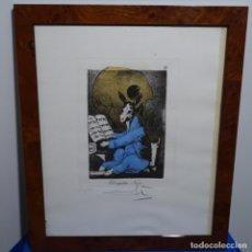 Arte: GRABADO DE DALI.EL CAPITÁN NEMO.123/200.VISION SURREALISTA DE DALI SOBRE GOYA.. Lote 180207317
