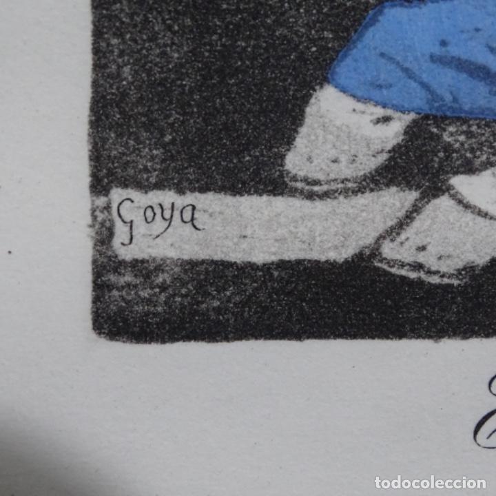 Arte: Grabado de dali.el capitán nemo.123/200.vision surrealista de dali sobre Goya. - Foto 8 - 180207317