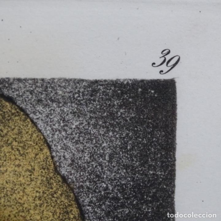 Arte: Grabado de dali.el capitán nemo.123/200.vision surrealista de dali sobre Goya. - Foto 9 - 180207317