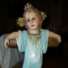 Arte: IMAGEN NIÑO JESÚS EN CRUZ. Lote 180219388