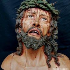 Arte: ESCULTURA DE JESUS EN CALVARIO O EN AGONIA . Lote 180289576