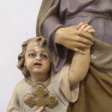 Arte: SAN JOSÉ CON EL NIÑO JESÚS DE OLOT. Lote 180290815