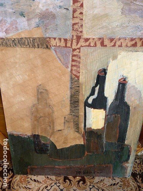 OLEO BODEGON FIRMADO TITI PEDROCHE (Arte - Arte Religioso - Pintura Religiosa - Oleo)