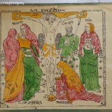 Arte: EMILE BERNARD (IMPRESIONISTA): LA PASIÓN, LITOGRAFÍA A COLOR, 1895. Lote 180408526