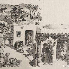 Arte: LA MUJER EN LOS PROVERBIOS. PIERRE MONNERAT (LAUSANA, SUIZA 1917). Lote 180472076