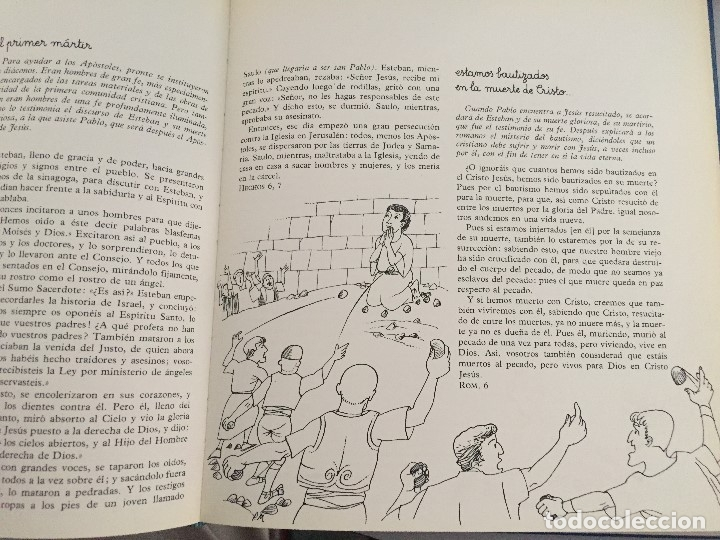 Arte: San Esteban, Hechos 6.7. Pierre Monnerat (Lausanne, Suiza 1917-España 2005) - Foto 2 - 180847010