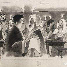 Arte: LA VENIDA DEL ESPÍRITU SANTO. PIERRE MONNERAT (LAUSANNE, SUIZA 1917-ESPAÑA 2005). Lote 180848216