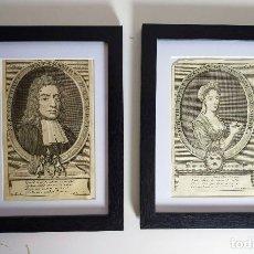 Arte: PAREJA DE GRABADOS, FRANCIA, SIGLO XVIII.. Lote 180862745