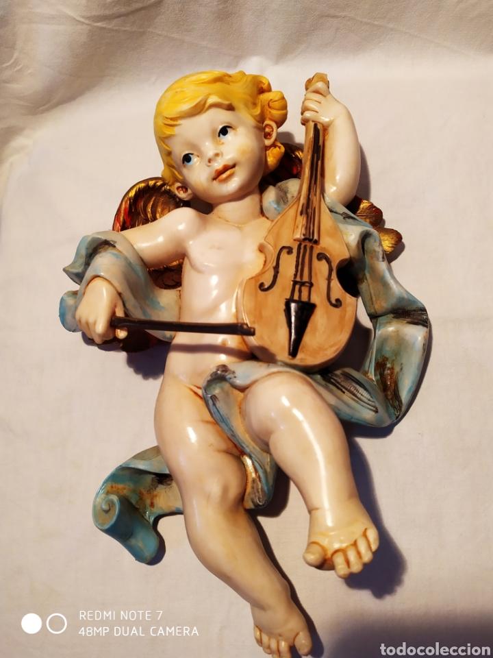 ANGEL RESINA, ITALIA, ÚNICO, VER (Arte - Arte Religioso - Escultura)