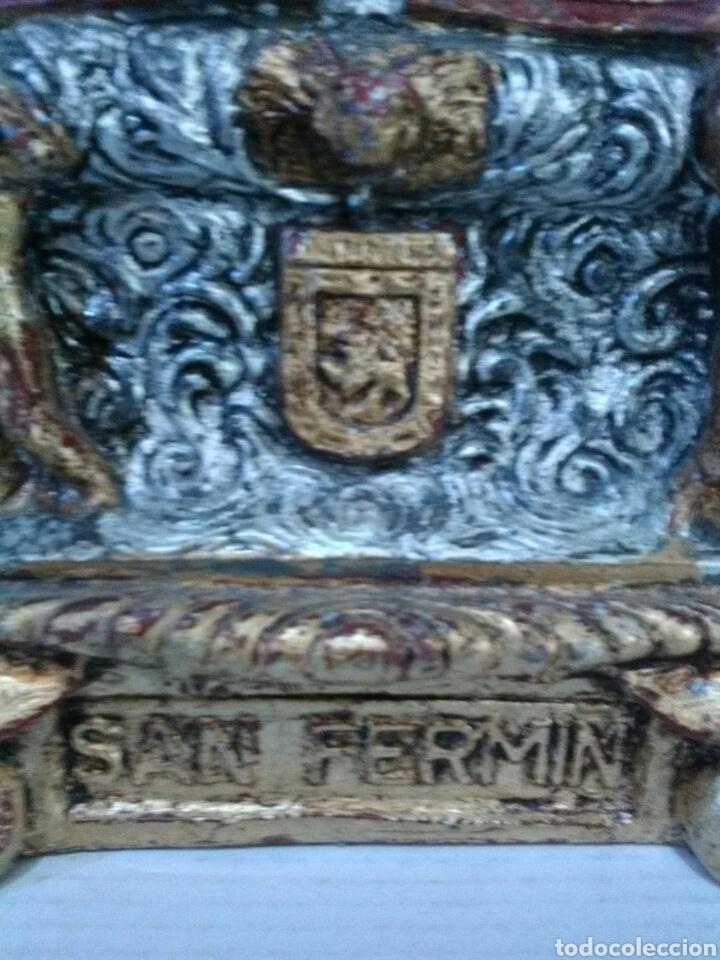 Arte: PRECIOSO SAN FERMIN FIGURA - Foto 7 - 181115757