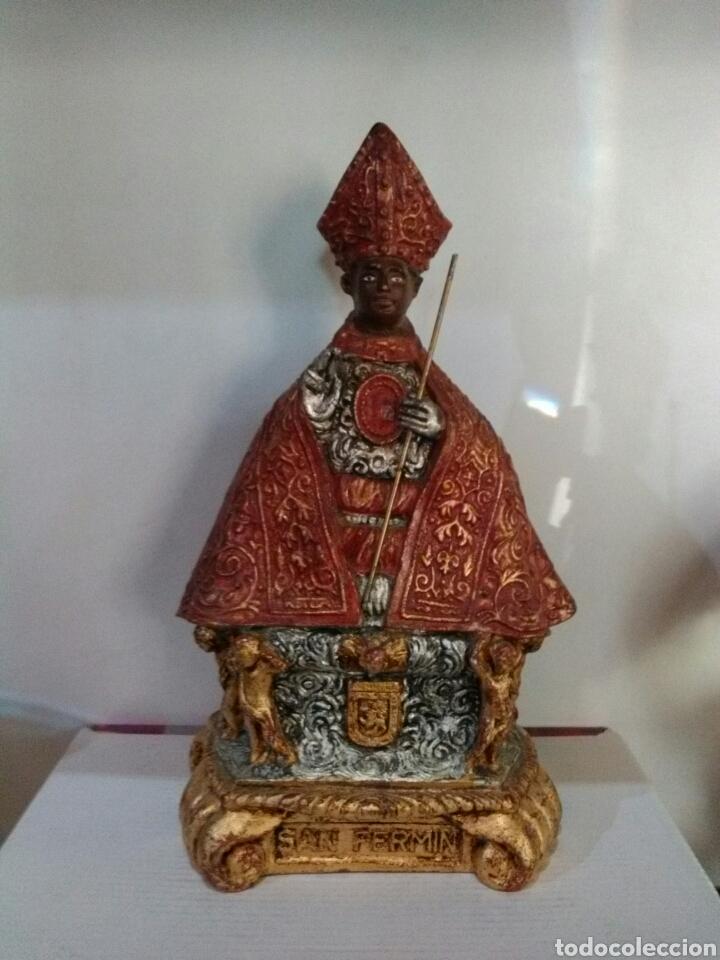 PRECIOSO SAN FERMIN FIGURA (Arte - Arte Religioso - Escultura)
