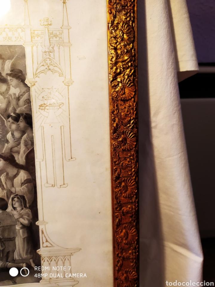 Arte: GRABADO DE 1922, RECUERDO DE PRIMERA COMUNIÓN, ENMARCADO, ÚNICO EN INTERNET, VER - Foto 9 - 181187446