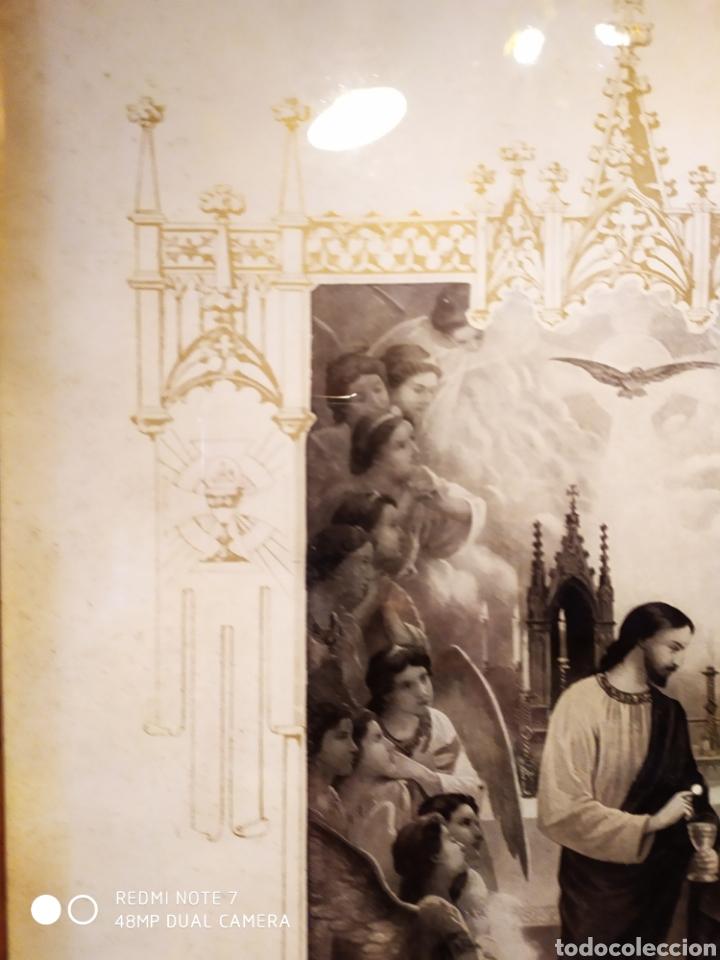 Arte: GRABADO DE 1922, RECUERDO DE PRIMERA COMUNIÓN, ENMARCADO, ÚNICO EN INTERNET, VER - Foto 12 - 181187446