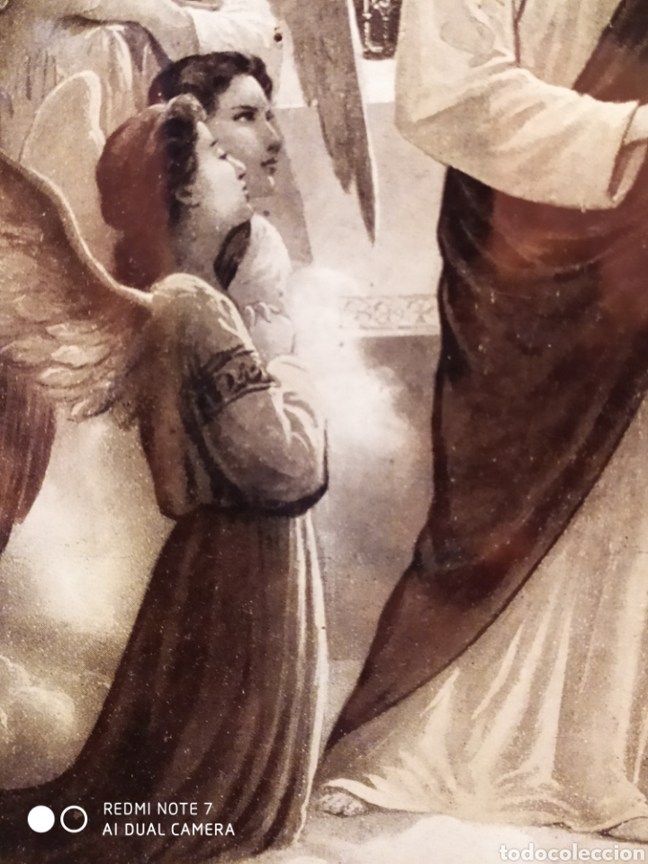 Arte: GRABADO DE 1922, RECUERDO DE PRIMERA COMUNIÓN, ENMARCADO, ÚNICO EN INTERNET, VER - Foto 17 - 181187446
