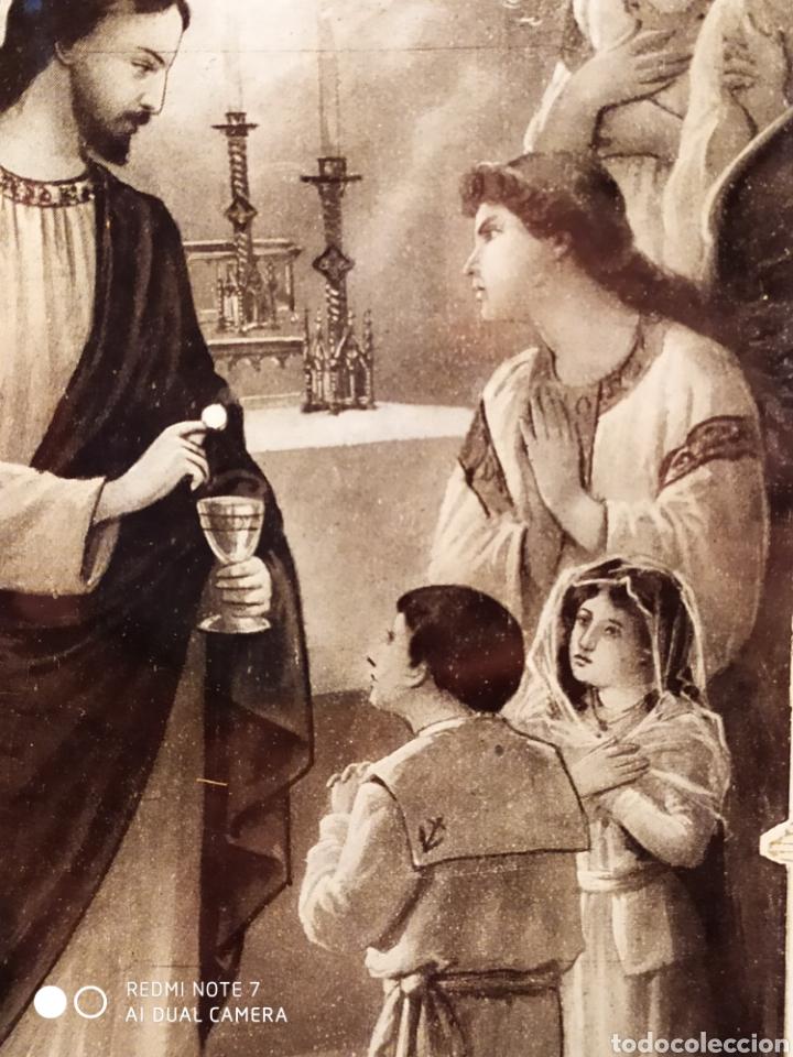 Arte: GRABADO DE 1922, RECUERDO DE PRIMERA COMUNIÓN, ENMARCADO, ÚNICO EN INTERNET, VER - Foto 19 - 181187446