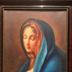 Arte: JOSEP MARÍA BOSCH LÓPEZ (SABADELL 1871-1951) OLEO DE TEMÁTICA RELIGIOSA DEL PINTOR Y SACERDOTE. Lote 181188570