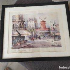Arte: EL MOLINO ROJO. PARIS. DELARUE. Lote 181216071