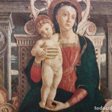 Arte: TRÍPTICO DE MADERA CON ESCENAS RELIGIOSAS, 92X55 CM.. Lote 181338728