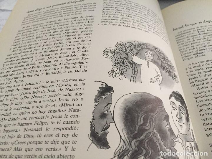 Arte: Jesús elige a sus primeros discípulos: Natanael. Pierre Monnerat (1917-2005) - Foto 2 - 181496890